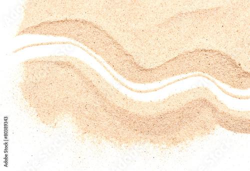 Fotobehang Macrofotografie sand pile
