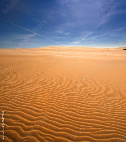 Fotobehang - Nadmorska wydma, Morze bałtyckie , Polska