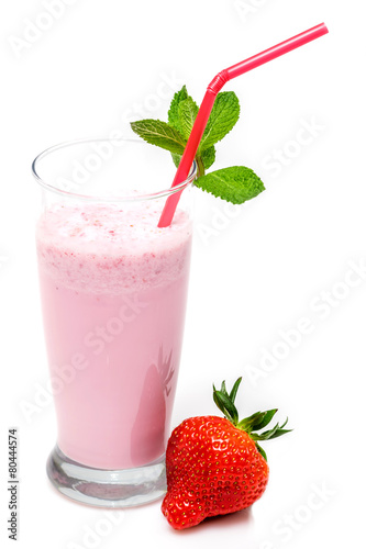 Foto op Plexiglas Milkshake Milk shake