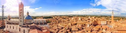 Vászonkép Siena, Tuscany, Italy