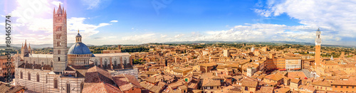 Siena, Tuscany, Italy Slika na platnu