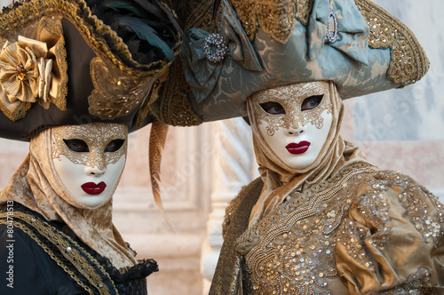 Poster Inspiration painterly Carnevale a Venezia