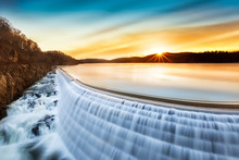 Sunrise Over Croton Dam, NY