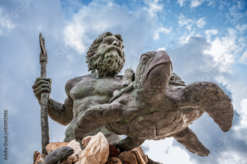 Fotografie, Obraz  King Neptune Statue at Virginia Beach