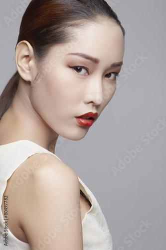 Photo  Asian beauty in studio a