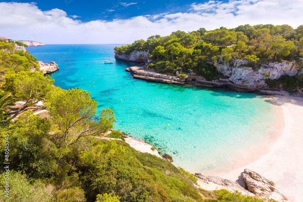Fototapety, obrazy: Majorca Cala Llombards Santanyi beach Mallorca