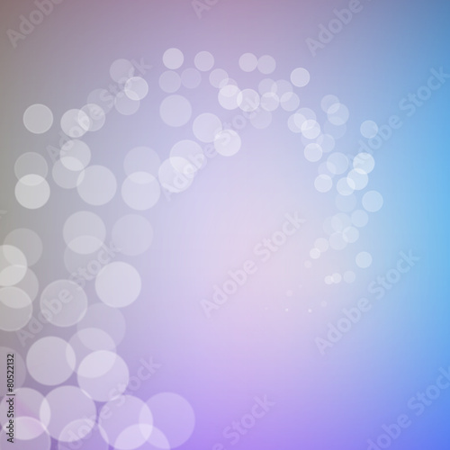 Fototapety, obrazy: Abstract bokeh sparkles swirl on blurred background