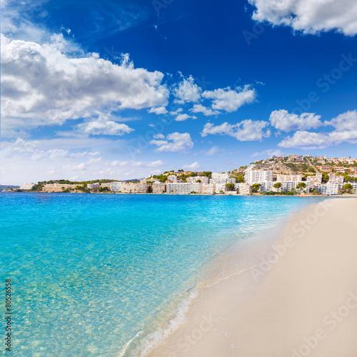 Foto op Aluminium Palermo Mallorca Cala Santa Ponsa Ponca beach in Majorca