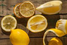 Fresh Lemons, Sunlight