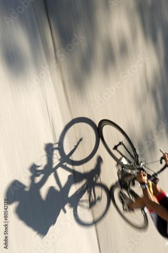 Foto op Canvas Fietsen Racing bicycles