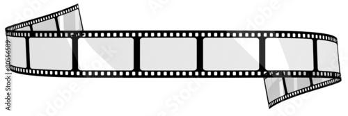 Obraz Blank film banner - fototapety do salonu