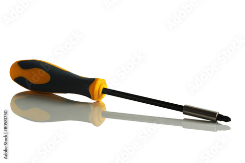 Old screwdriver.