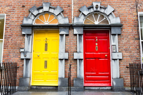 Georgian Doors, Ireland Poster