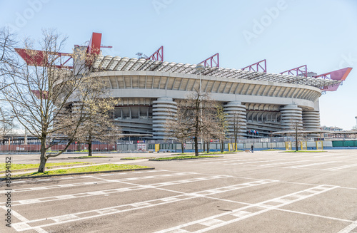 Printed kitchen splashbacks Stadion San Siro arena,Milan