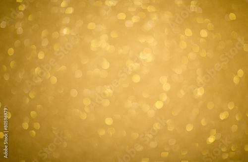 Fototapeta Gold glitter texture, soft focus obraz na płótnie
