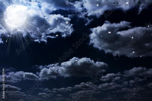 Fototapety, obrazy: nightly sky