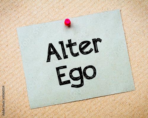 Stampa su Tela Alter Ego