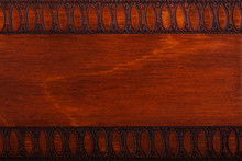 Wooden Background In Abstract Pattern