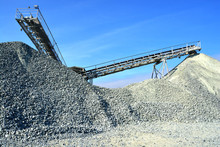 Heavy Machinery Of Gravel Production