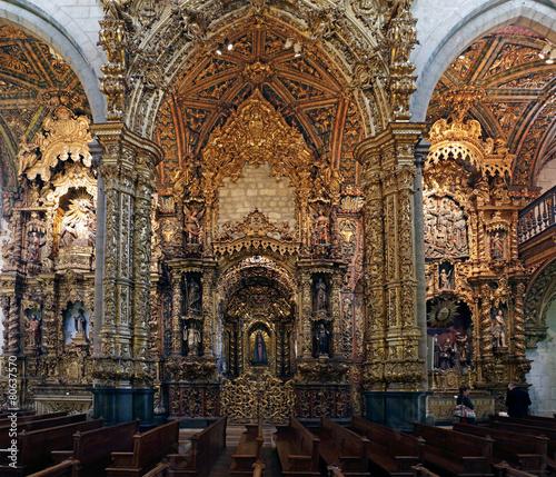 Fotografie, Obraz  San Francisco lateral altars