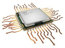 CPU Central Processor Unit Iso...