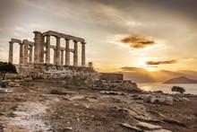 Greek Temple Poseidon,  Cape S...