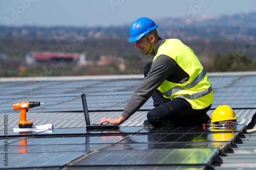 Fotografie, Tablou  photovoltaic