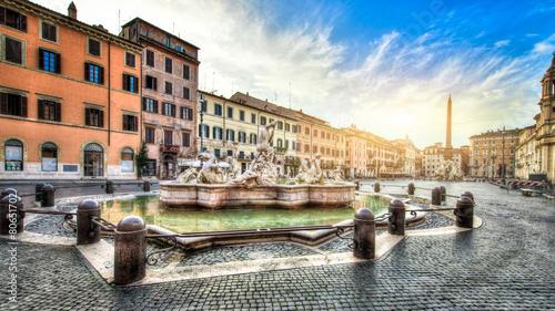 Obrazy na płótnie Canvas Piazza Navona, Rome. Italy