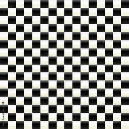Fotografie, Obraz  Illuminated checkered surface