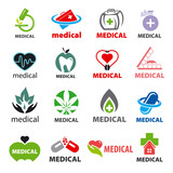 biggest collection of vector logos medical