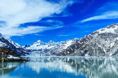 Fotografie, Obraz  Panoramic view of Glacier Bay national Park. Alaska
