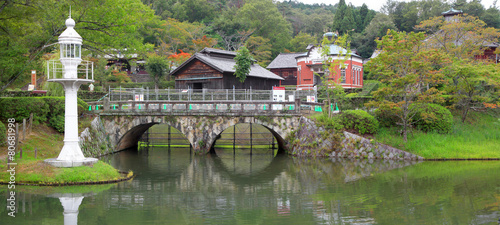 Photo  Historic Meiji mura in Japan
