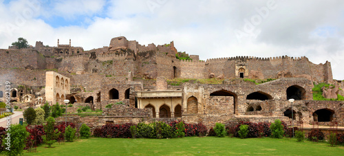 Photo sur Aluminium Fortification Golkonda fort