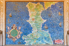Ancient Calabria Map In Galler...
