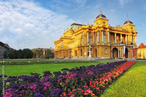 Papiers peints Opera, Theatre Zagreb - Croatian National Theate