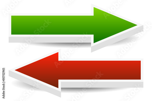 Photo Left and Right Arrows