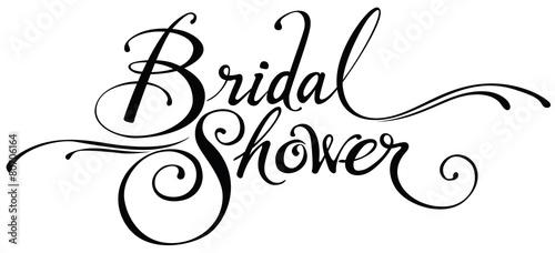 Bridal Shower Canvas-taulu