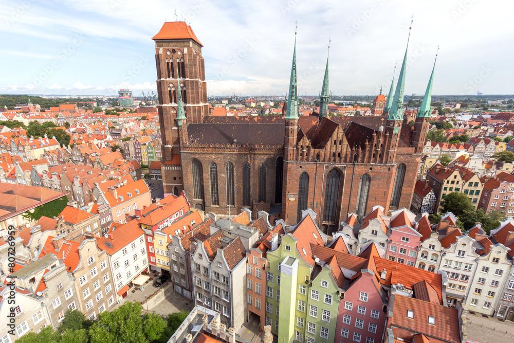 Fototapeta Gdansk, Poland.