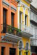 Colorful buidings in San Telmo