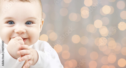 Fotografie, Obraz  beautiful happy baby