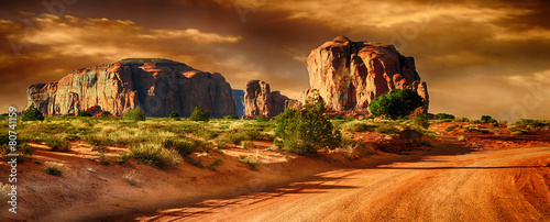 Canvas Prints Arizona Monument Valley