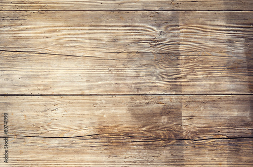 Tuinposter Hout Wooden boards with texture as clear background