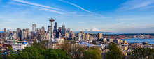 Panorama View Of Seattle Downt...