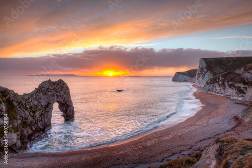 Photo  Durdle Door Dorset England