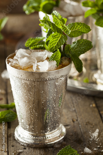 Valokuva  Refreshing Cold Mint Julep
