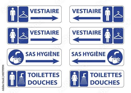 Fototapeta  Panneaux hygiène