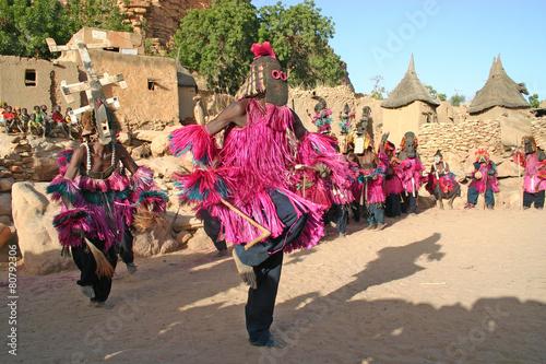 Staande foto Afrika Dogon mask, Mali