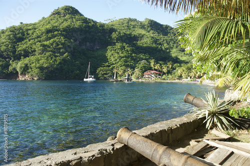 Foto op Plexiglas Caraïben Wallilabou Bay St Vincent & The Grenadines Caribbean 01