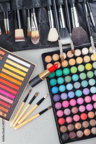 Fototapeta Make-up tools obraz na płótnie