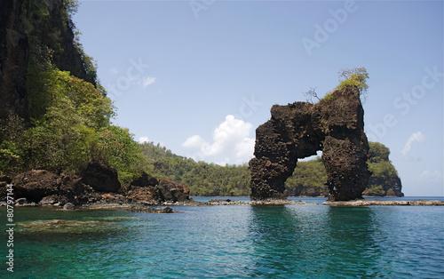 Foto op Plexiglas Caraïben Wallilabou Bay St Vincent & The Grenadines Caribbean 13